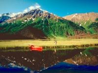 Angler vor Traumkulisse, Foto: TravelAlaska.com