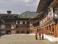 innenhof-dzong-bhutan