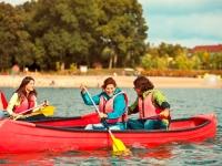 Aktivitäten auf dem Wasser, Foto: Center Parcs