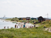 Strandhütten bei Erikshale Marstal, Foto: VisitDenmark