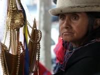 Traditionelle Ecuadorianerin, Foto: Ministerio de Turismo del Ecuador
