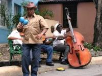 Straßenmusik Santiago, Foto: travel-to-nature