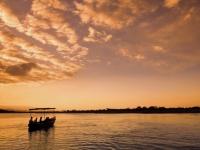 Sonnenuntergang am Malawi See, Foto: BoTG