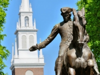 neuengland_boston_paul-revere-statue, Foto: Shutterstock