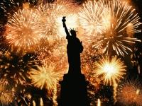 Ano Novo Estatua da Liberdade, AGPhotography