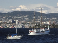 Blick auf Boote vor Oslo [Foto: Nancy Bundt - Visitnorway.com]