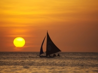 Boracay Sonnenaufgang, Foto: Philippines Department of Tourism