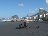 Blick über die Copacabana