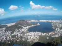 Blick vom Corcovado nach Ipanema