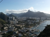 Blick über Botafogo vom Zuckerhut