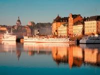 Skeppsbron Dock in Oldtown Stockholm, Ola Ericson/imagebank.sweden.se
