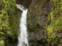 Couple Under Waterfall, Photos courtesy of Tahiti Tourisme