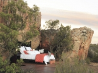 Ein Bett unterm Sternenhimmel, Kagga Kamma Private Game Reservce, Foto: Best of Travel Group