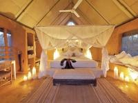 Luxuriöse Zeltunterkunft, Garonga Safari Camp