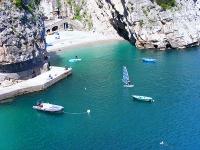 Amalfiküste: Strand von Praiano, Foto: Cilentano
