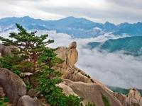 Seoraksan Nationalpark Südkorea, Foto via Asien Special Tours
