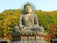 Sinheungsa Tempel Seoraksan, Foto via Asien Special Tours