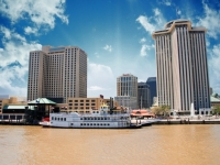 Louisiana New-Orleans mit Mississippi River, Foto: Shutterstock