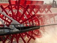 Mississippi Dampfer Schaufelrad, Foto: Shutterstock