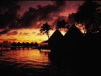 Sonnenuntergang Tahiti, Foto: Tahiti Tourisme Deutschland