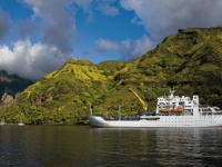 Passagierfrachtschiff Aranui 3, Photo courtesy of Lionel Gouverneur
