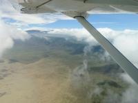 Ngorongo-Krater Luftaufnahme, Foto: Outback Africa