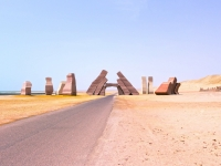 Entrance in the national park Ras Mohammed, Egypt, Solarisys