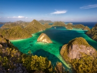 Beautiful archipelago of Raja Ampat ( Four Kings ). Indonesia, yurybirukov