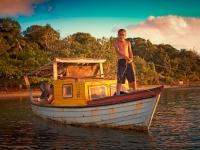Kind aus Tonga auf einem Fischerboot, Foto: Tonga Tourism