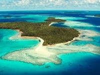 Luftaufnahme einer Insel von Tonga, Foto: Tonga Tourism