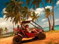 Mit dem Kart auf Entdeckungstour, Foto: Tonga Tourism