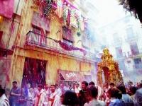 Straßenfest in Valencia, Foto: VLC