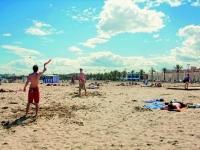 Valencia, Strand von Malvarossa, Foto: VLC