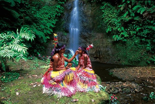 Tanna Island Vanuatu  city pictures gallery : Schminkzeremonie und Kulturbräuche, Foto: Vanuatu Tourism Office