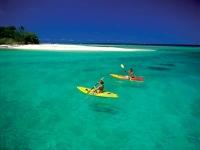 Pärchen in Kayaks, Foto: Vanuatu Tourism Office