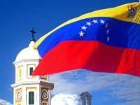 Nationalflagge Venezuelas [Sabor Venezolano, Gabriel S. Delgado C, CC BY 2.0, flickr]