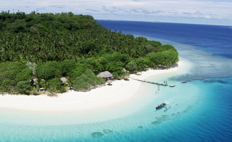 Beach areal kingdom of tonga tonga urlaub bild tonga visitors