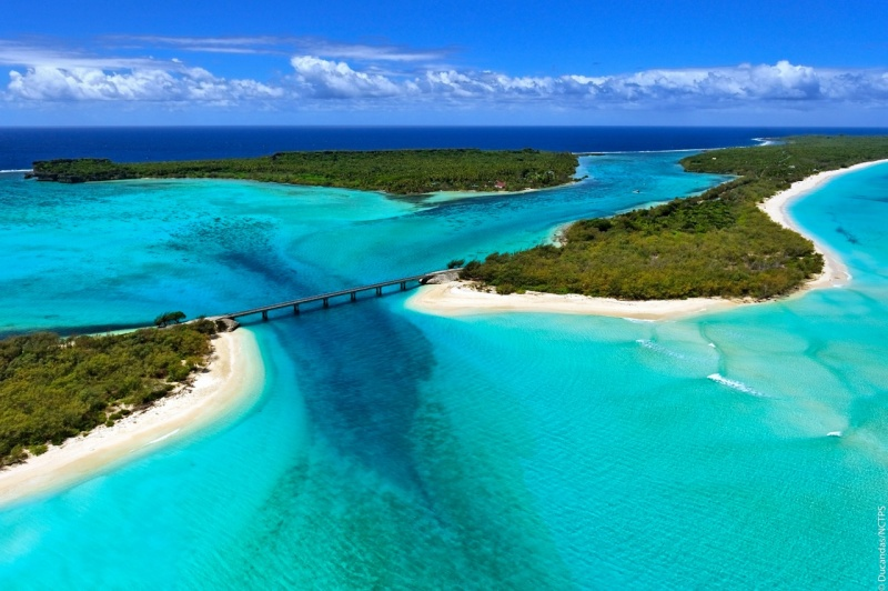 New Caledonia Heart Island