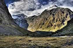 Homer Tunnel, Neuseeland  (Bild: View From Homer Tunnel, Adam Selwood, CC BY)