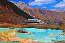 Huanglong Nationalpark in China  (Bild: Asien Special Tours, Copyright)