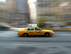 New York Taxi  (Bild: Quick taxi, Daniel Dudek-Corrigan, CC BY)
